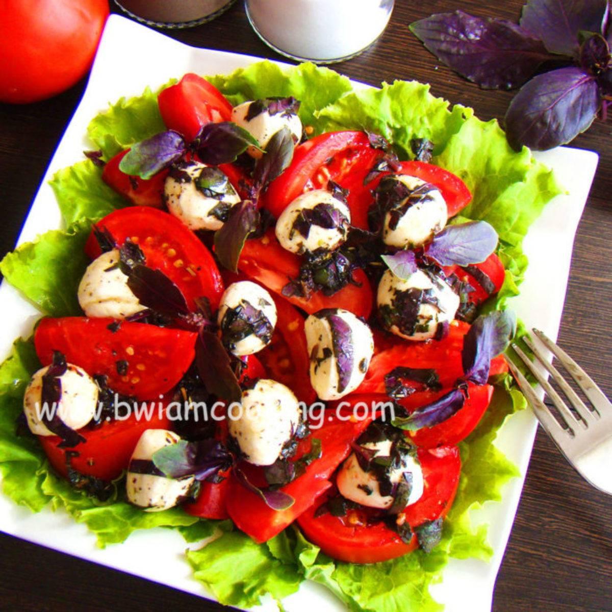 Салат капрезе - рецепт пошагово с фото. как приготовить классический итальянский салат капрезе
