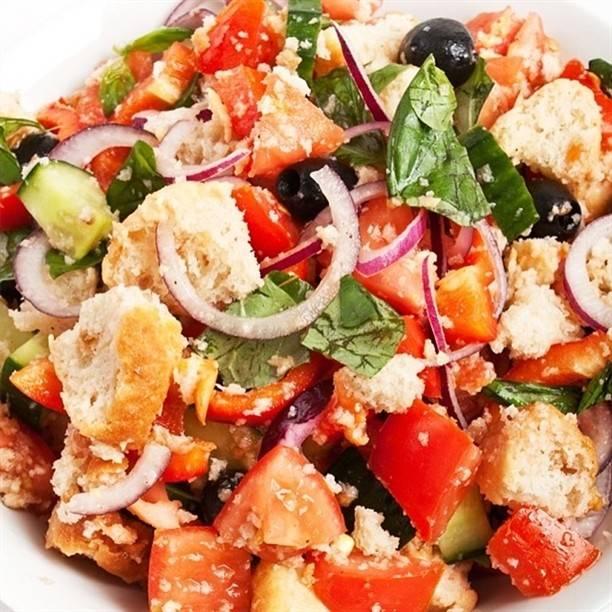 Панцанелла - пошаговый рецепт с фото |  салаты