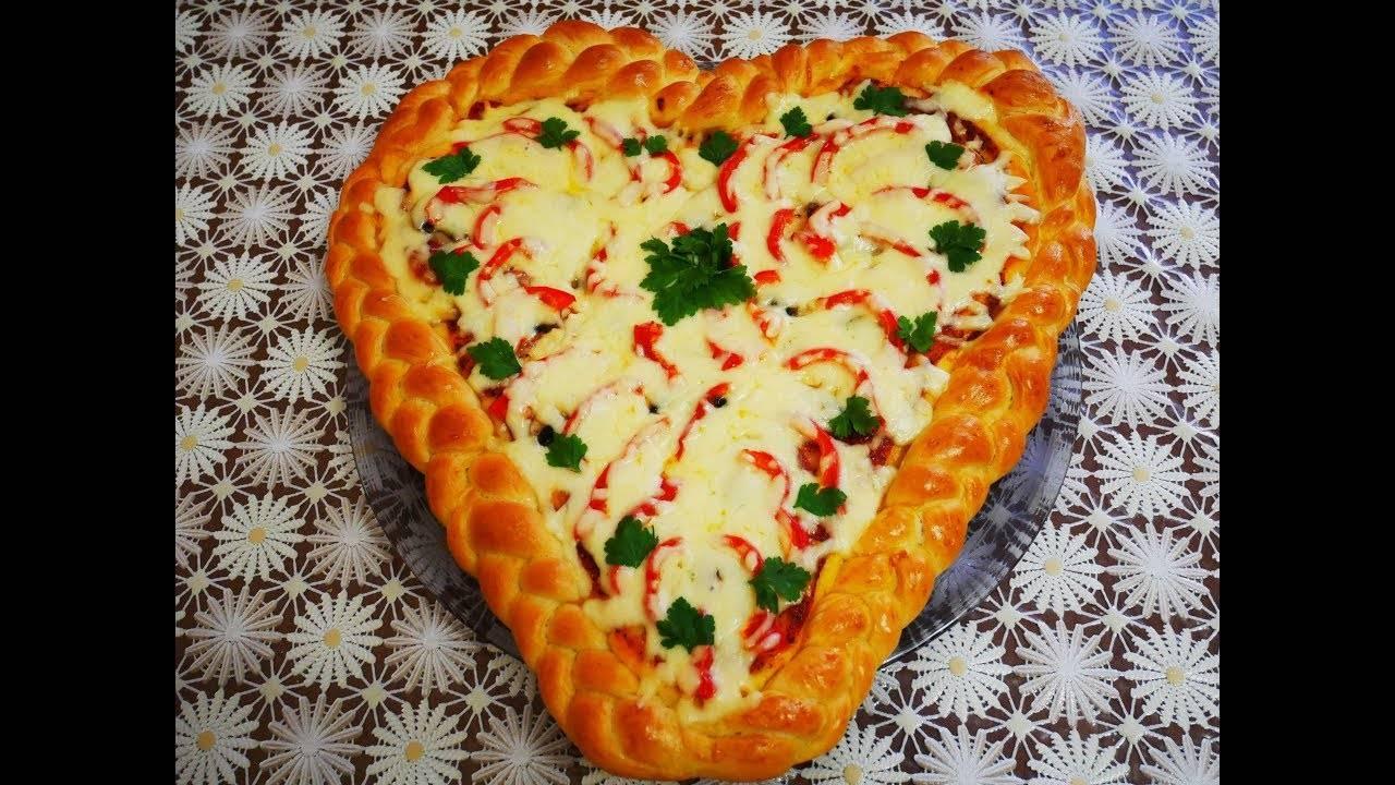 Рецепты блюд на день святого валентина в виде сердца