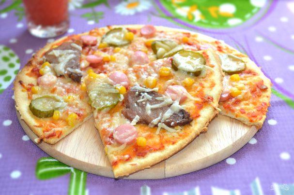 Простые рецеппты   пицца ржаная   блог о доме и семье