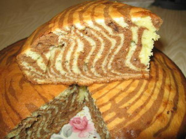 Торт зебра фото  как испечь бисквит с кремом