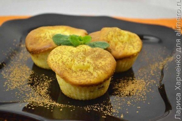 Нежные кексы на кефире - 11 пошаговых фото в рецепте