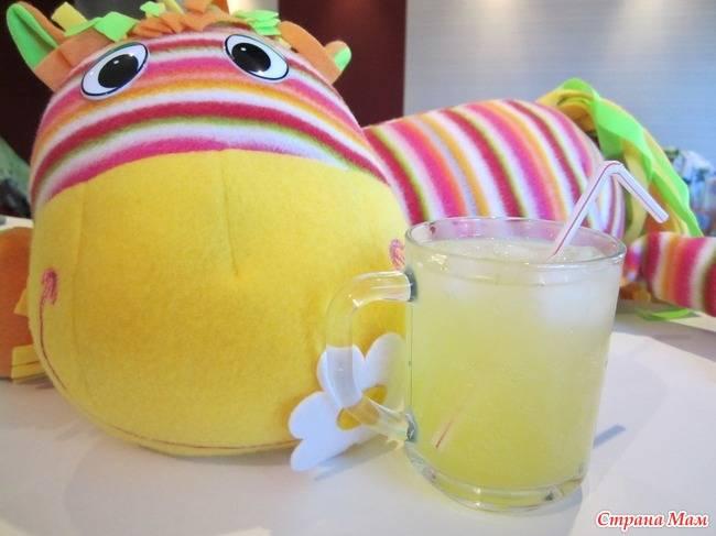 Апельсиновый лимонад (Апельсинад)