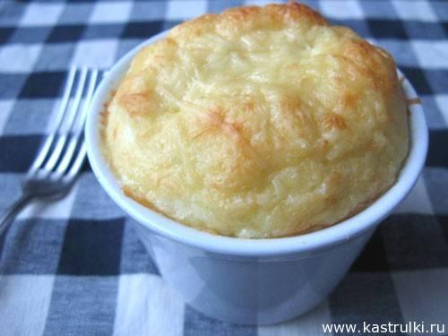 Рецепты картофельное суфле