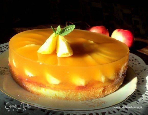 Как сделать апельсиновое желе с яблоками: 2 удачных варианта