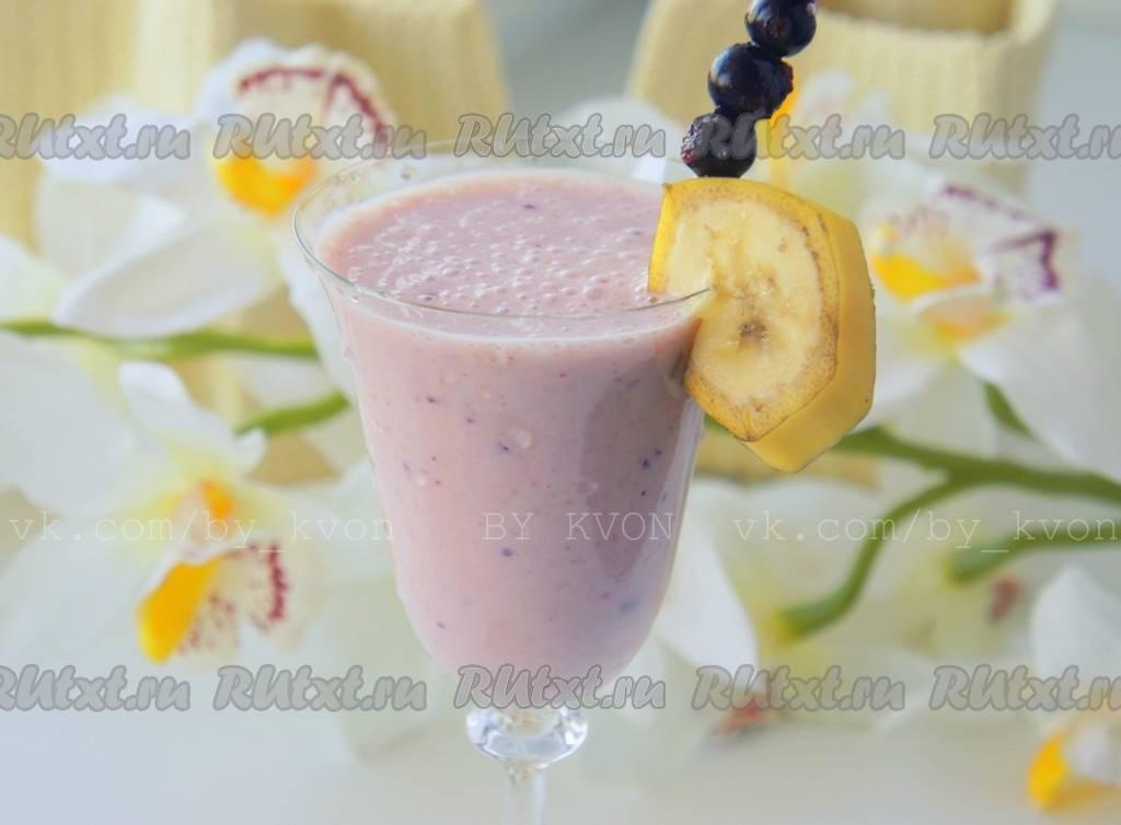 Смузи из клубники с бананом, овсянкой и мороженым - рецепты с молоком, кефиром, йогуртом
