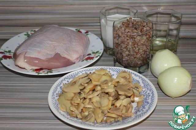 Гречка по-купечески с курицей. рецепт с фото