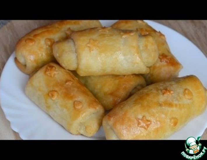 Вэрзэре - молдавские пирожки с капустой без дрожжей
