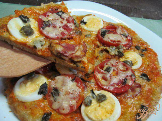 Новогодняя пицца «елочка» - рецепт с фото