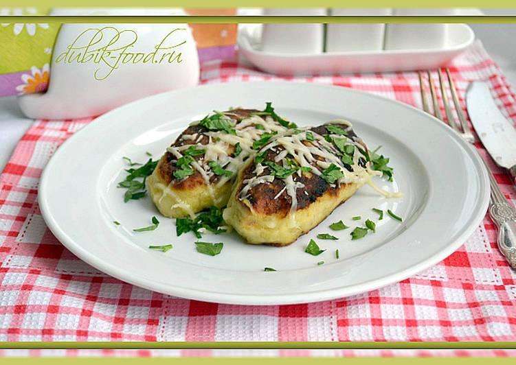 Картофельные рулетики с мясом