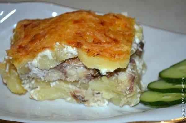 Шикарная картофельная запеканка со скумбрией: рецепт просят все
