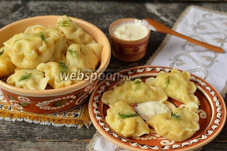 Вареники с картошкой и грибами – вкусное блюдо для постного меню и не только!