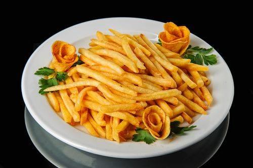 Картофель фри в микроволновке рецепт без масла. картошка фри в микроволновке