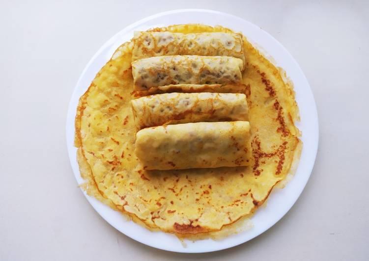 Блины с припеком с кукурузной мукой - рецепт с фотографиями - patee. рецепты