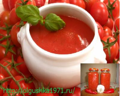"""Домашний кетчуп """"семейный"""""""