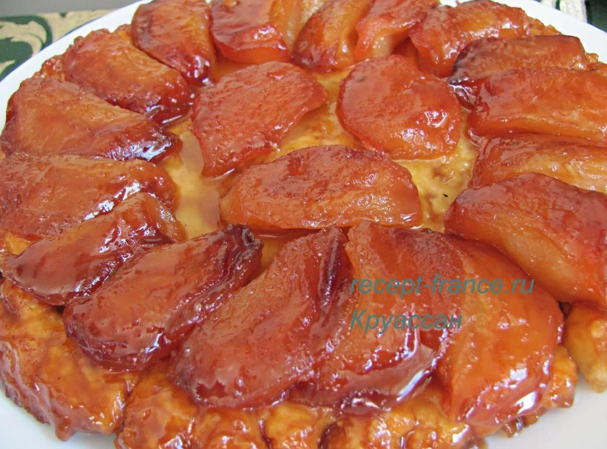 Яблочный тарт — 8 рецептов французского открытого пирога
