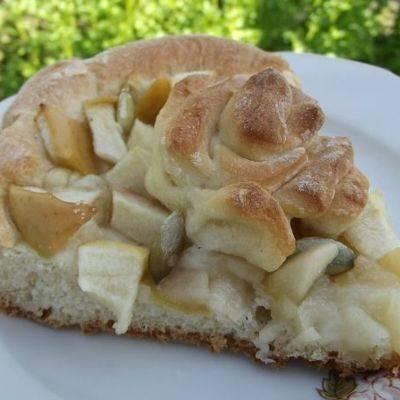 """Яблочный пирог """"мечта"""""""