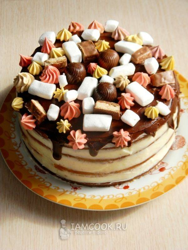 Пошаговый рецепт торта колибри с фото