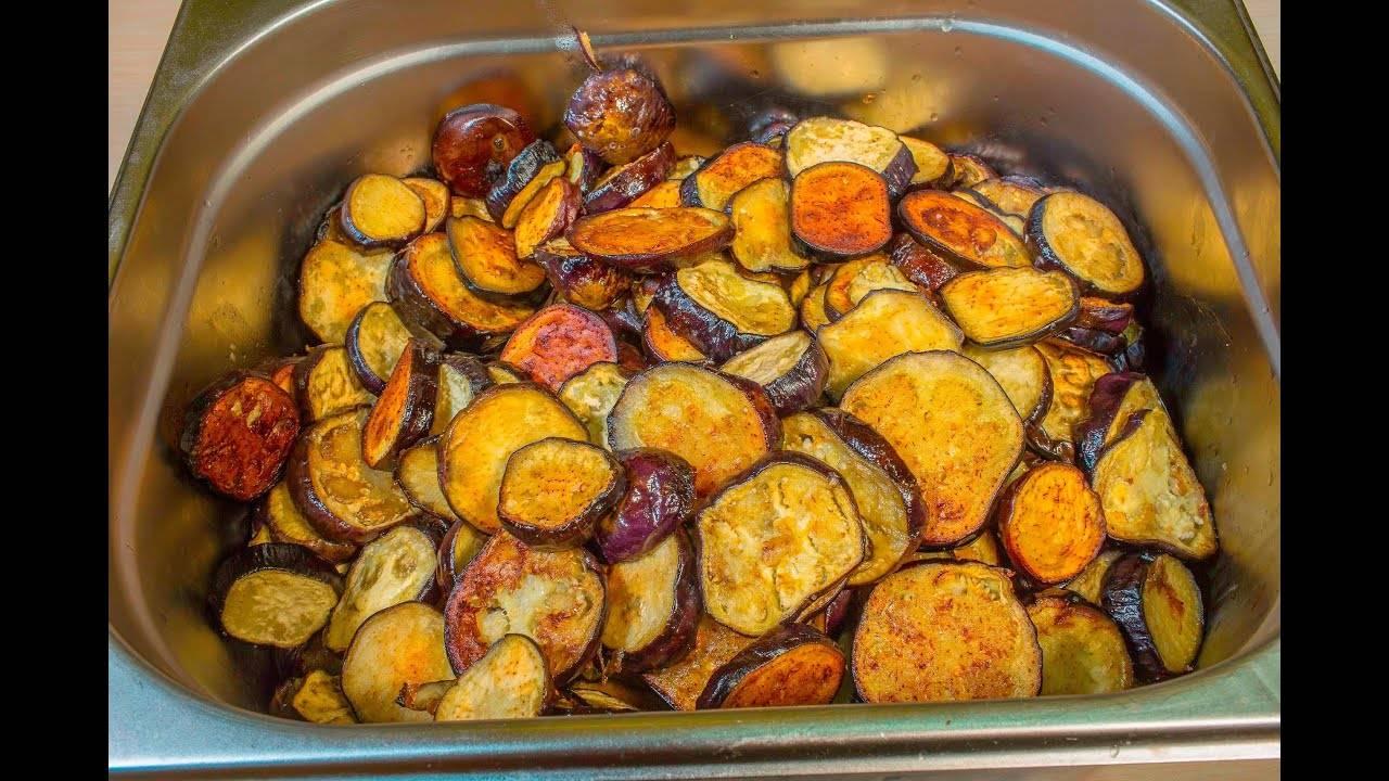 Острый салат из баклажанов на зиму огонек