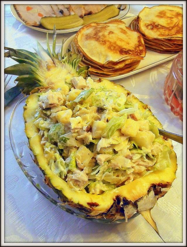 Как готовить индейку с ананасами на сковороде, в духовке и мультиварке