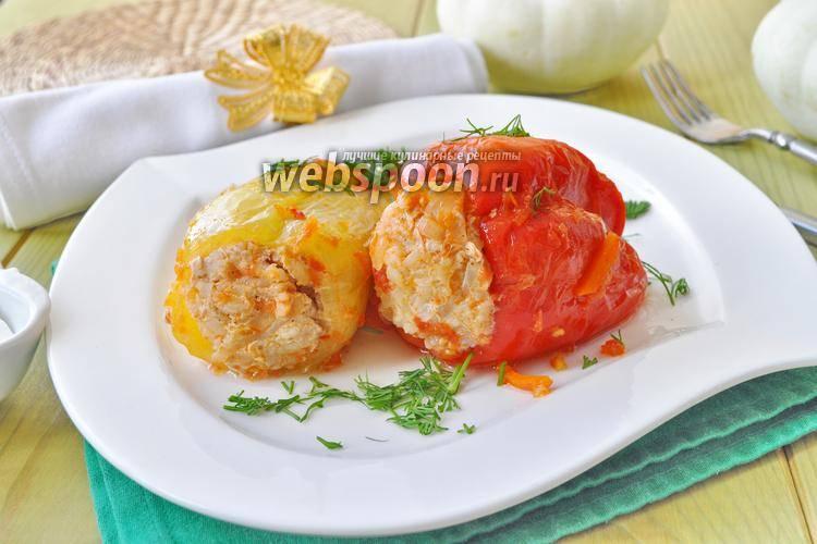 Фаршированные перцы, приготовленные в мультиварке - 6 пошаговых фото в рецепте