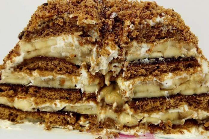 Торт из пряников без выпечки: 7 быстрых рецептов |