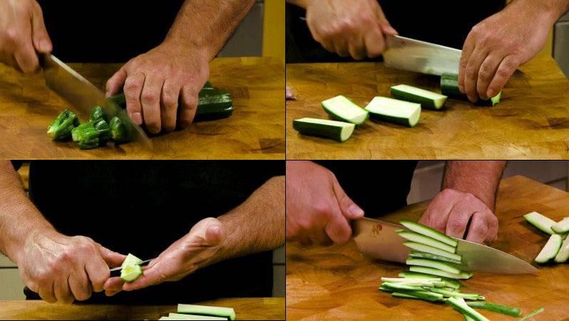 Паста скабачком, зеленью итвердым сыром — вкусный завтрак