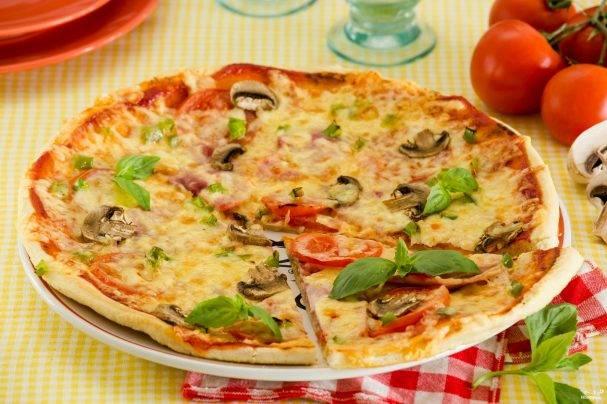 Романтическая пицца за 30 минут