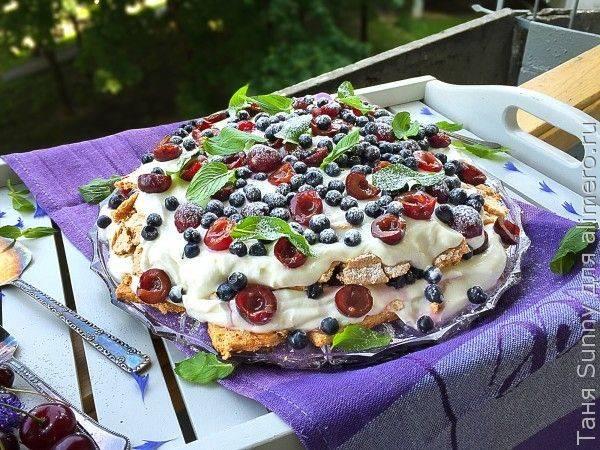 Торт с меренгой: рецепт, фото - рецепты