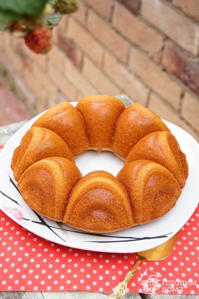 Апельсиновые кексы с цукатами