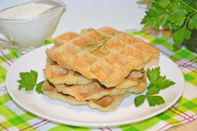 Рецепты картофельные вафли