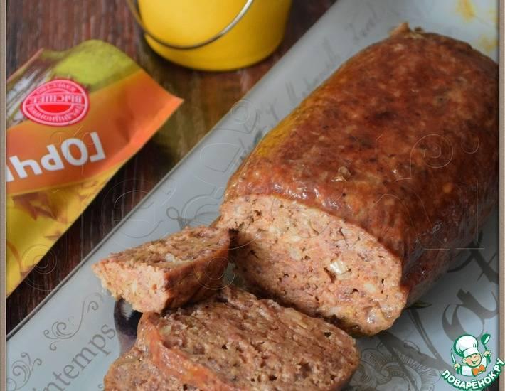 Печеночная колбаса в домашних условиях в кишке