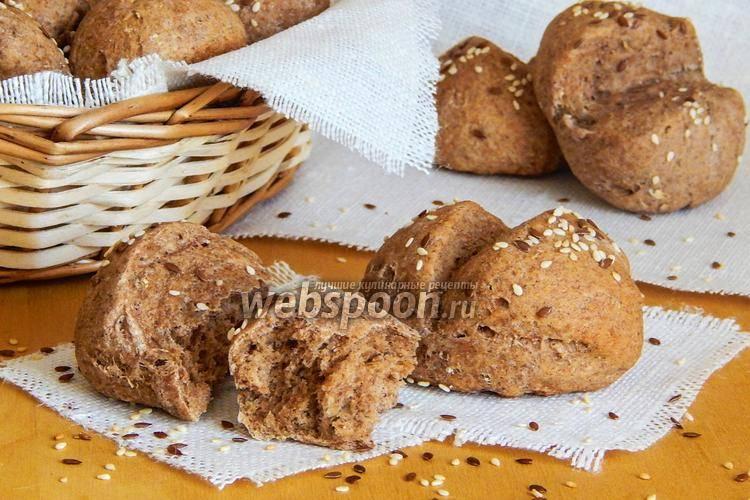 Творожно-ржаные булочки с сыром