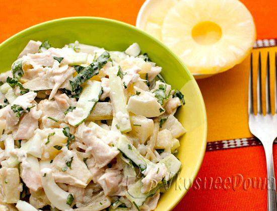 Куриное филе с ананасами в духовке – 2 рецепта