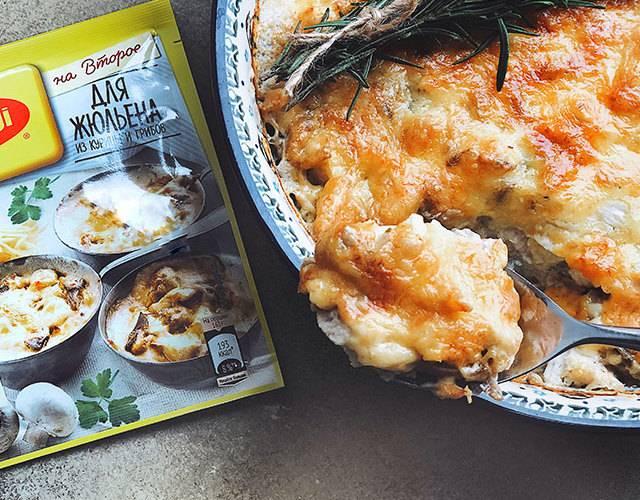 Жульен с грибами и курицей в тарталетках: рецепты вкусного и сытного праздничного блюда - onwomen.ru