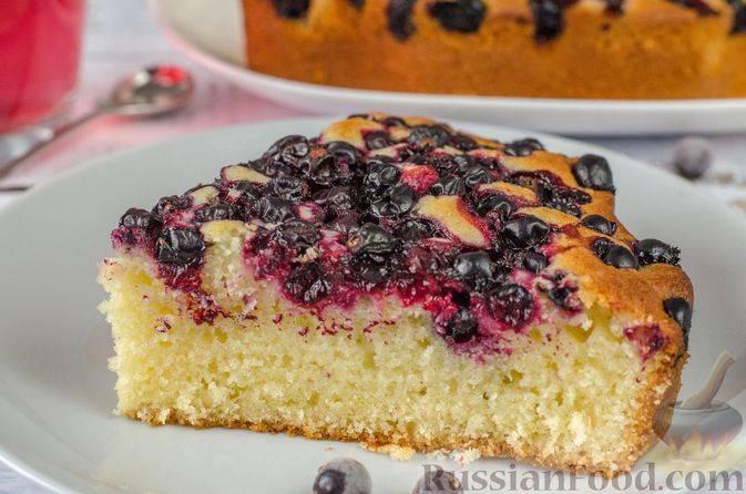 Смородиновый пирог с кусочками манго рецепт – европейская кухня: выпечка и десерты.