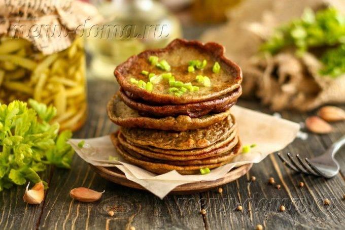 Печеночные оладьи из куриной печени рецепт с фото