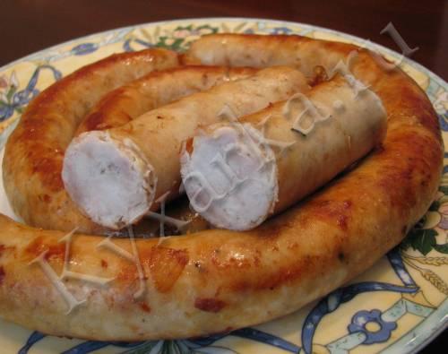 Куриная колбаса