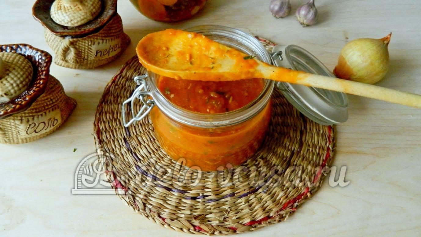 Томатный соус для спагетти в домашних условиях