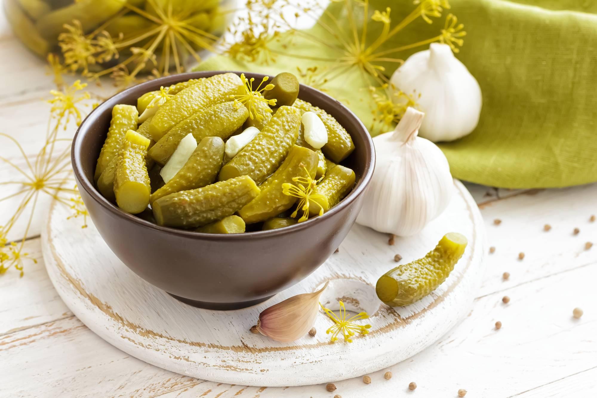 5 рецептов вкусных маринованных огурцов