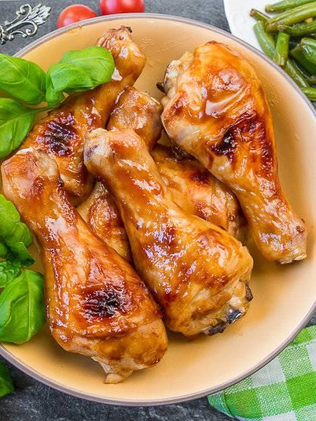 Куриные голени в чайном маринаде