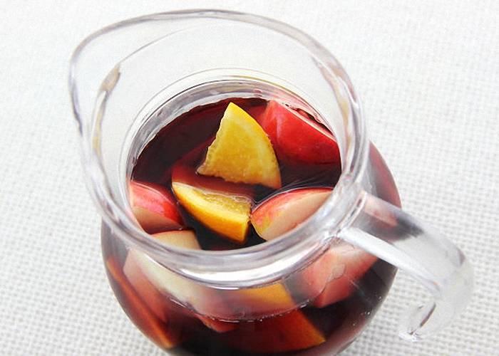Вино сангрия – вкусный освежающий напиток из испании