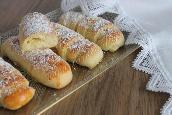 Булочки «крем-де-паризьен». рецепт с фото | домохозяйка