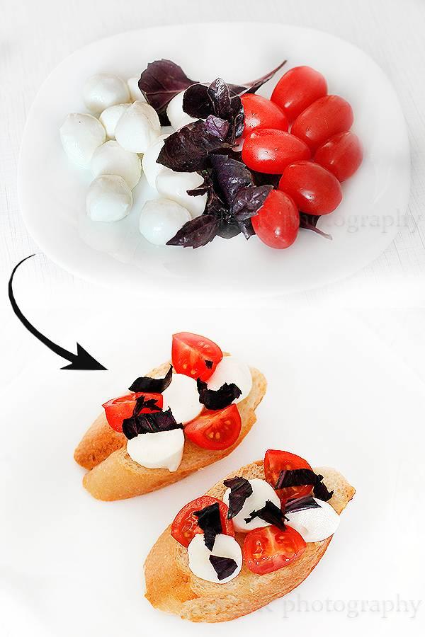 Рецепты брускетты с разными начинками фото