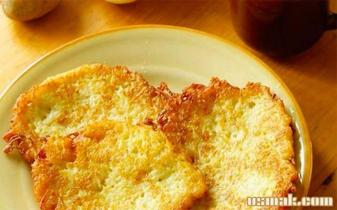 Драники картофельные с сыром в духовке рецепт
