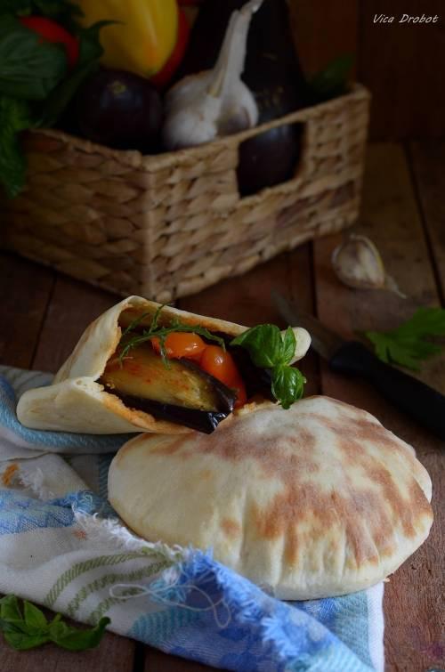 Хлеб пита с куриной начинкой - рецепт с фотографиями - patee. рецепты