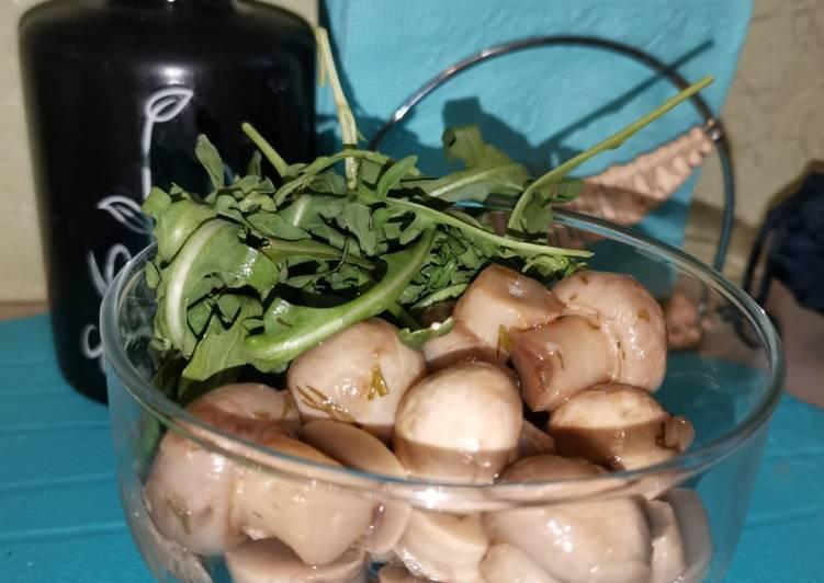 Быстрые маринованные грибочки
