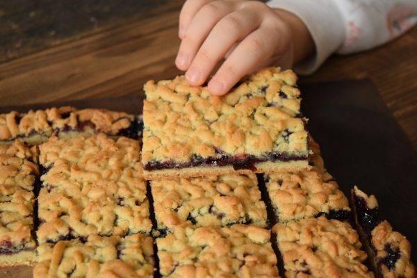 Пирог простой творожный