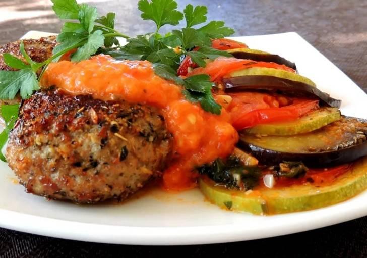 Овощные котлеты из кабачков без мяса