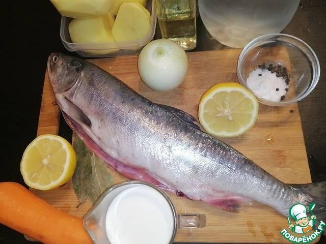 """Рыбный пирог """"приморский"""""""